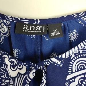 a.n.a. (Ana) top - Plus Size 1X